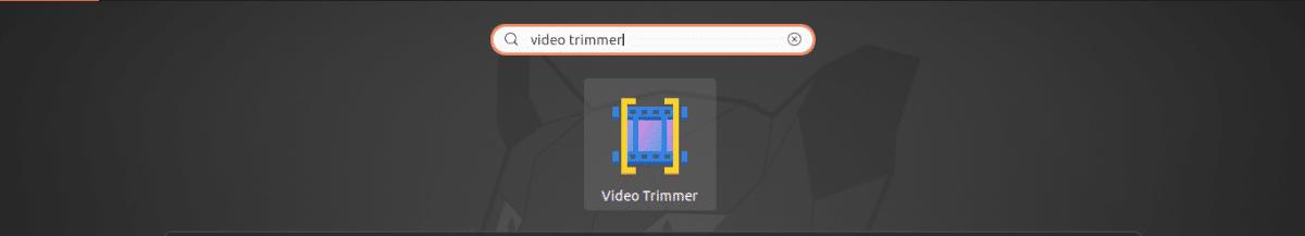lanzador de video trimmer