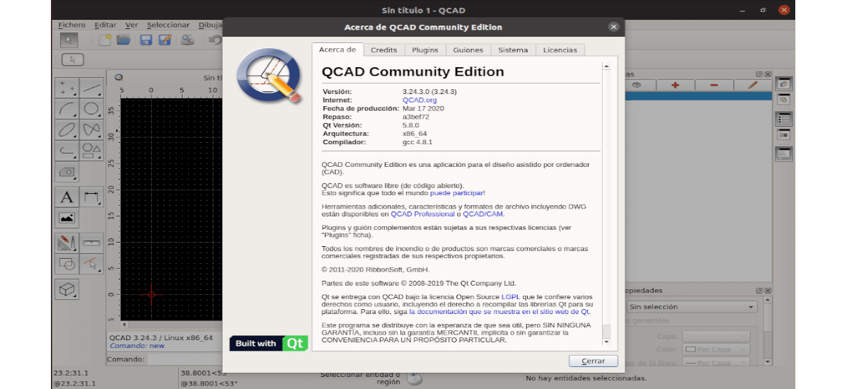 about qcad community edition