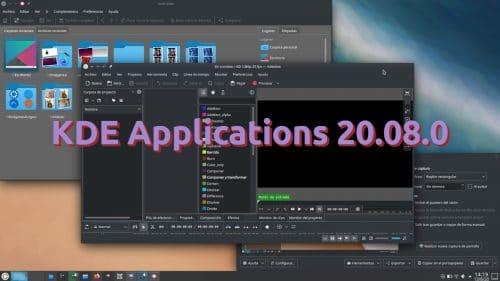 KDE Applications 20.08.0