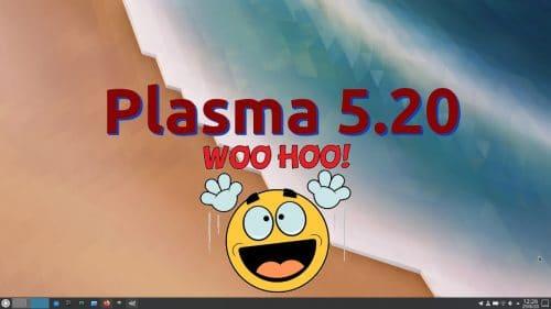 KDE Plasma 5.20 introducirá muchos cambios