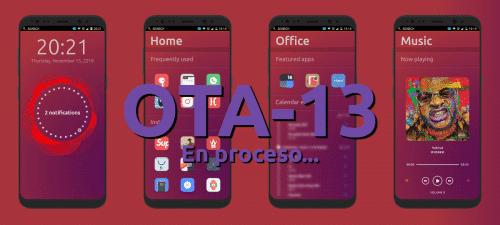 Ubuntu Touch OTA-13 en proceso