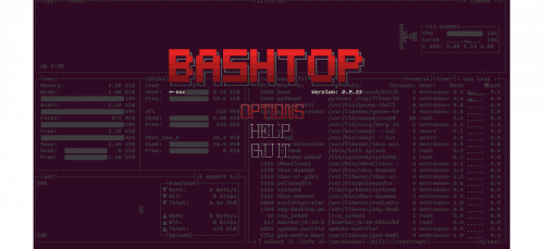 about bashtop