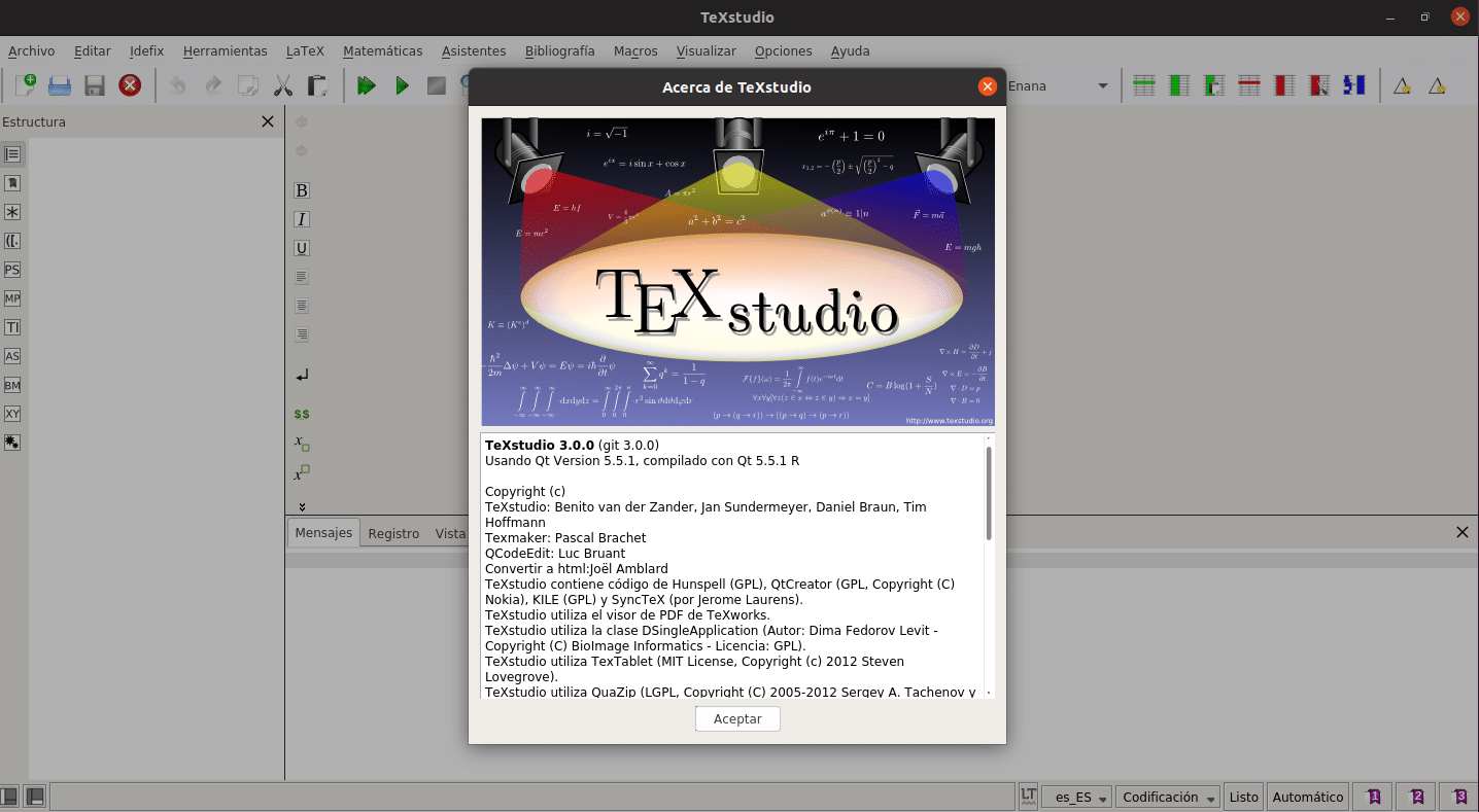 about TeXstudio 3