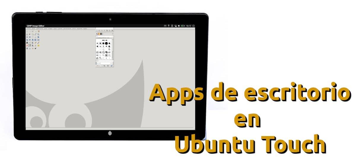 Apps de escritorio en Ubuntu Touch con Libertine