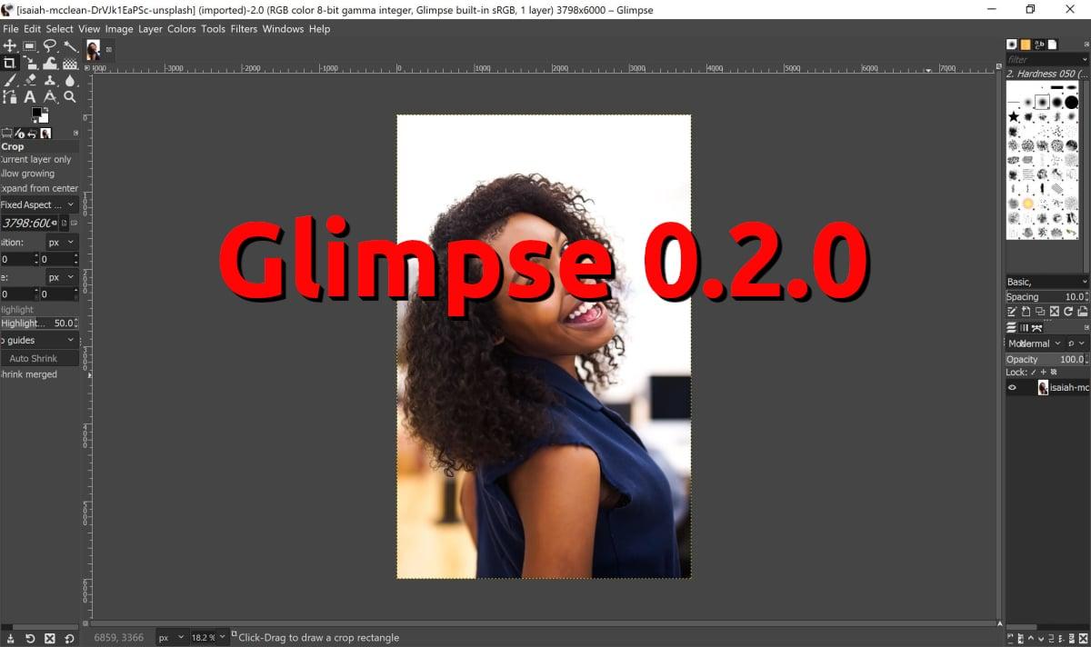 Glimpse 0.2.0