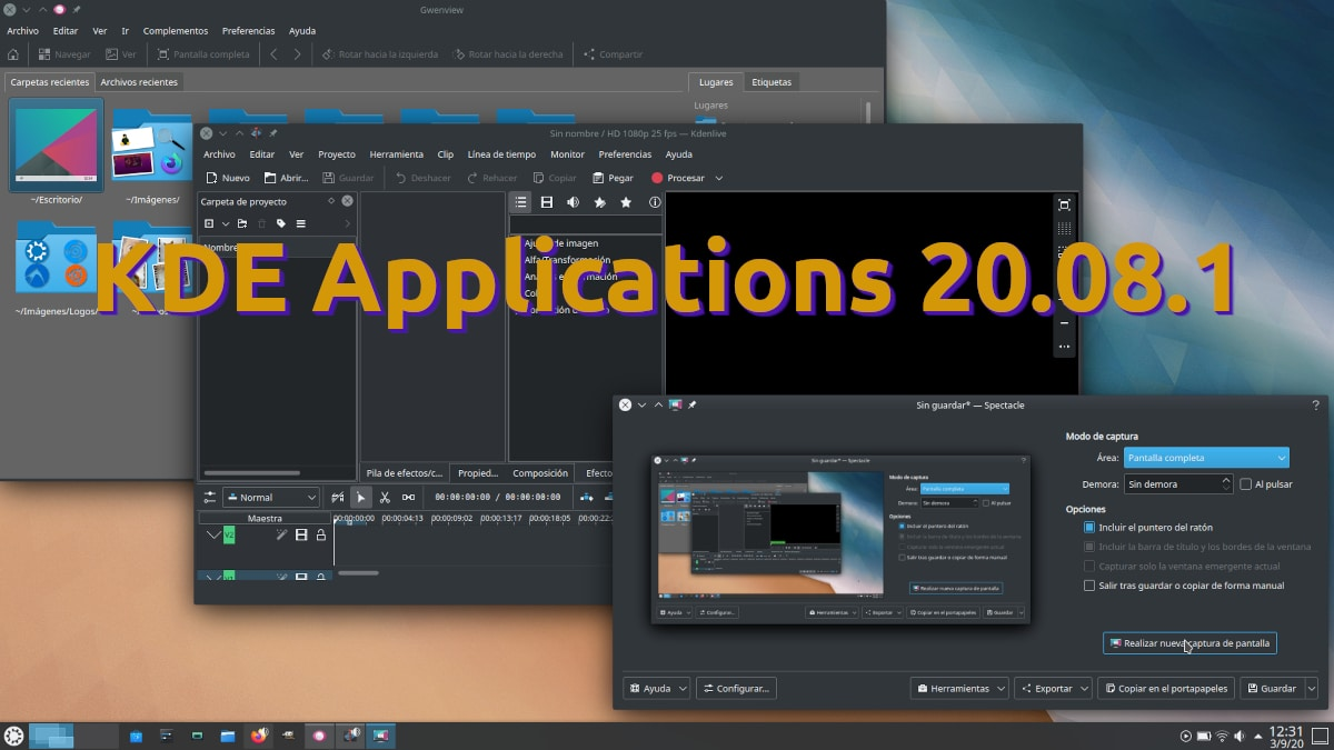 KDE Applications 20.08.1