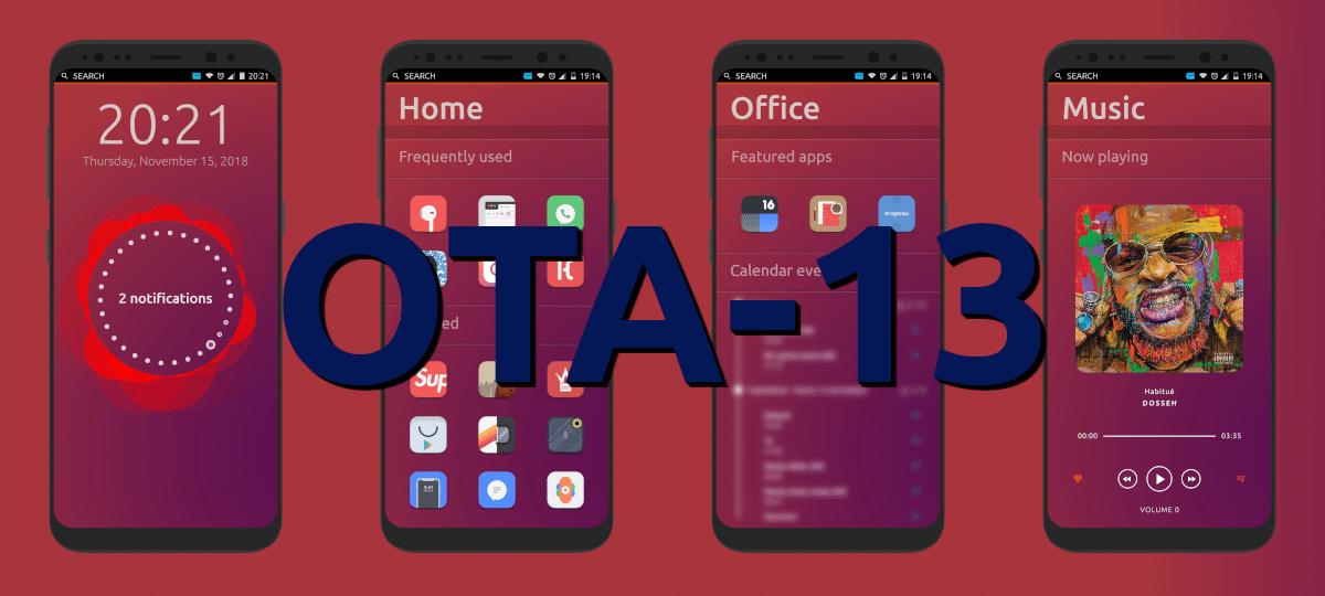 OTA-13 de Ubuntu Touch