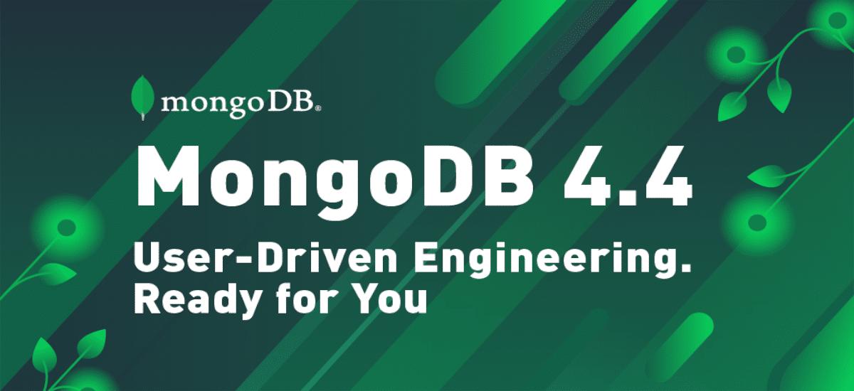 About mongoDB 4.4