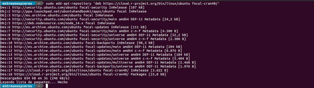 add repo para el lenguaje de programación R