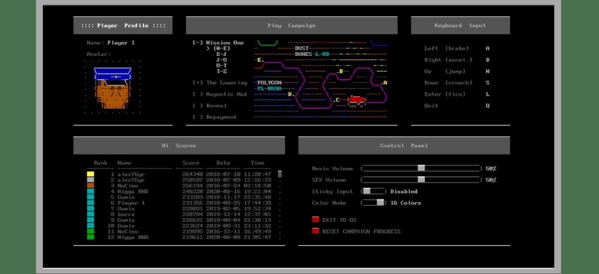 configuracion controles ascii patrol