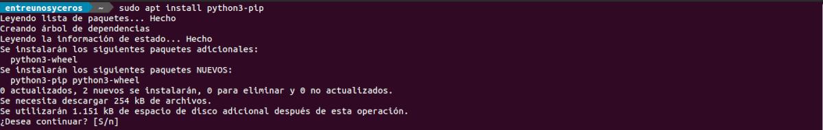 instalar python3-pip