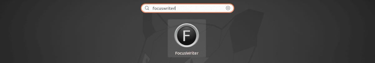 lanzador de FocusWriter