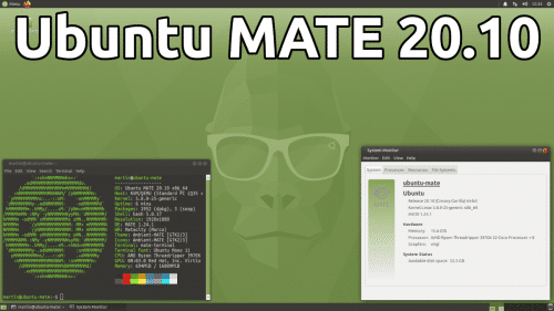 Ubuntu MATE 20.10 Groovy Gorilla