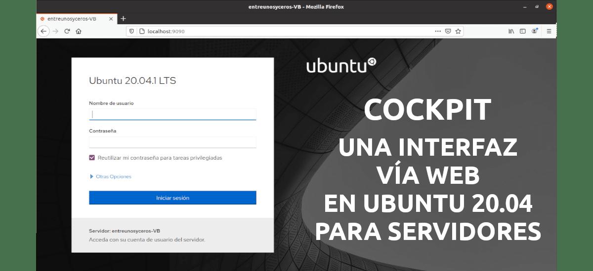 about cockpit en Ubuntu 20.04