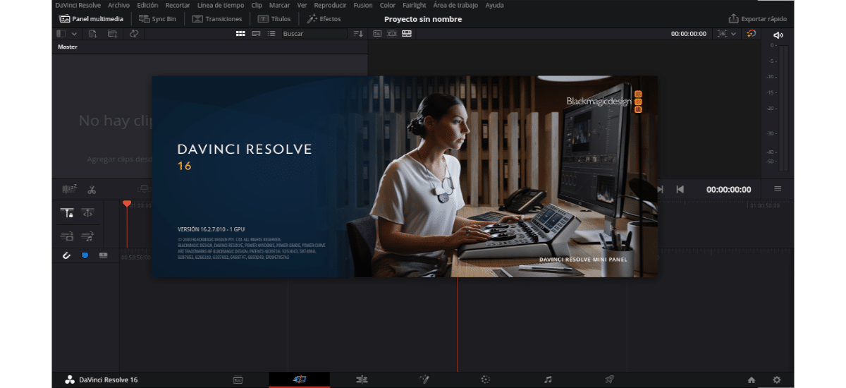about Davinci Resolve 16