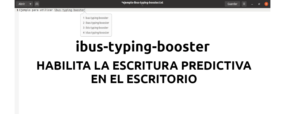 About IBus-Typing-Booster
