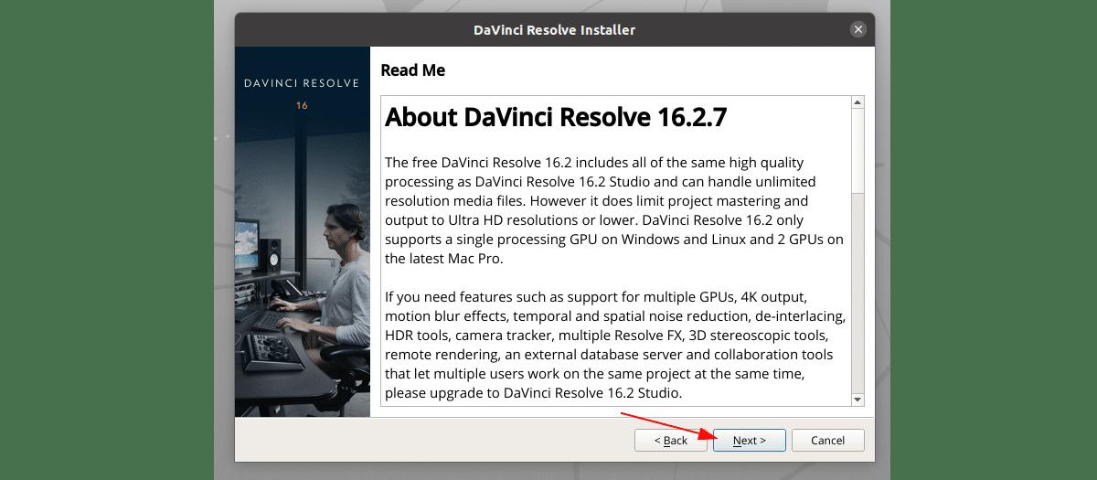 resumen de About Davinci Resolve 16