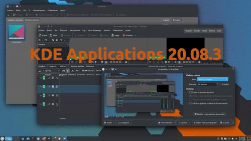 KDE Applications 20.08.3