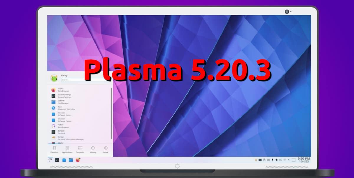 Plasma 5.20.3