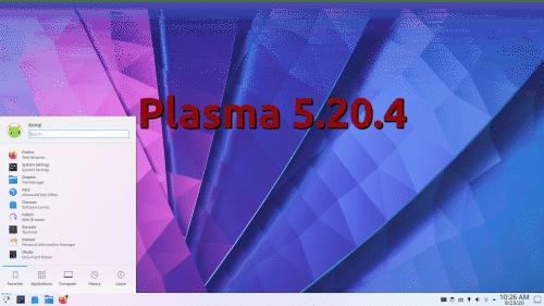 Plasma 5.20.4