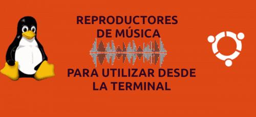 reproductores de música para la línea de comandos en Ubuntu