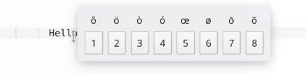 Funcion de caracteres especiales de Plasma 5.21