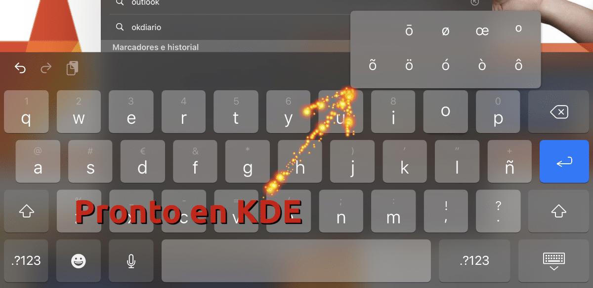 KDE prepara algo como esto