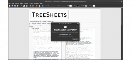about treesheets