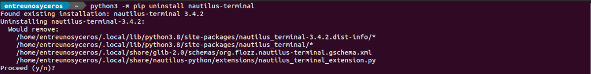 desinstalar nautilus terminal 3