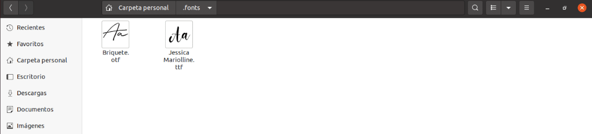 directorio fonts