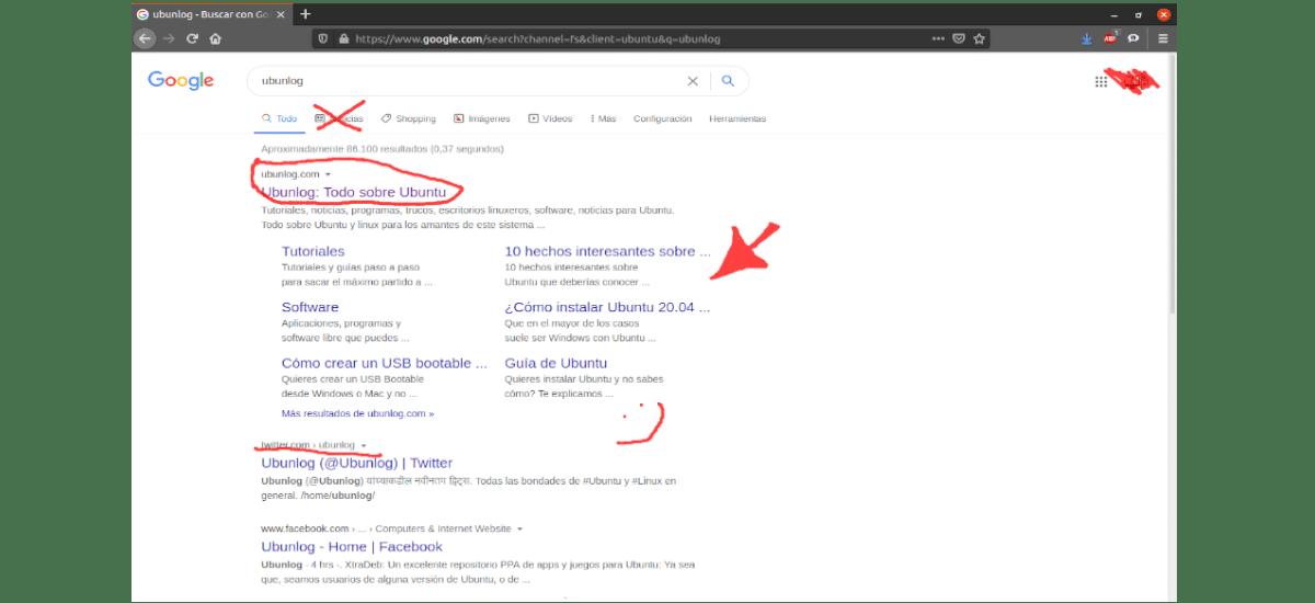 gromit-mpx funcionando sobre el navegador web