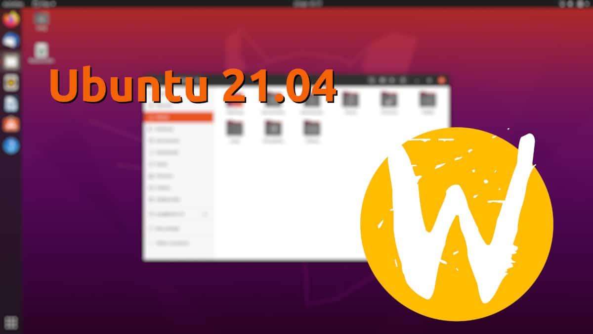 Ubuntu 21.04 en Wayland