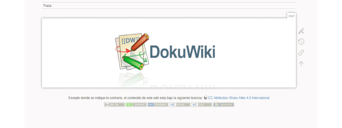 About DokuWiki