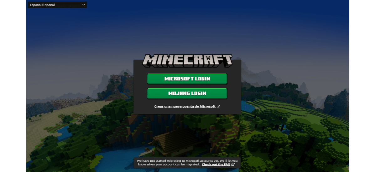 about Minecraft en Ubuntun 20.04