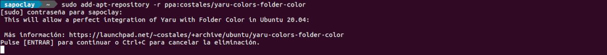eliminar repositorio folder color