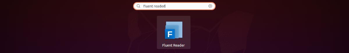 lanzador de fluent reader