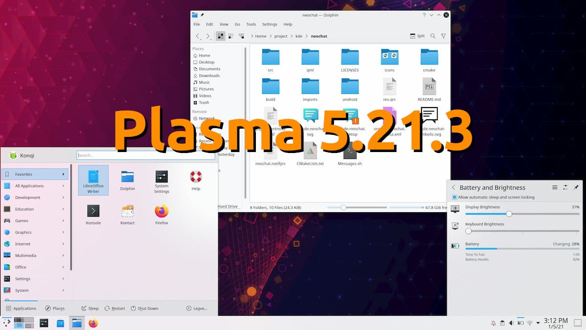 Plasma 5.21.3