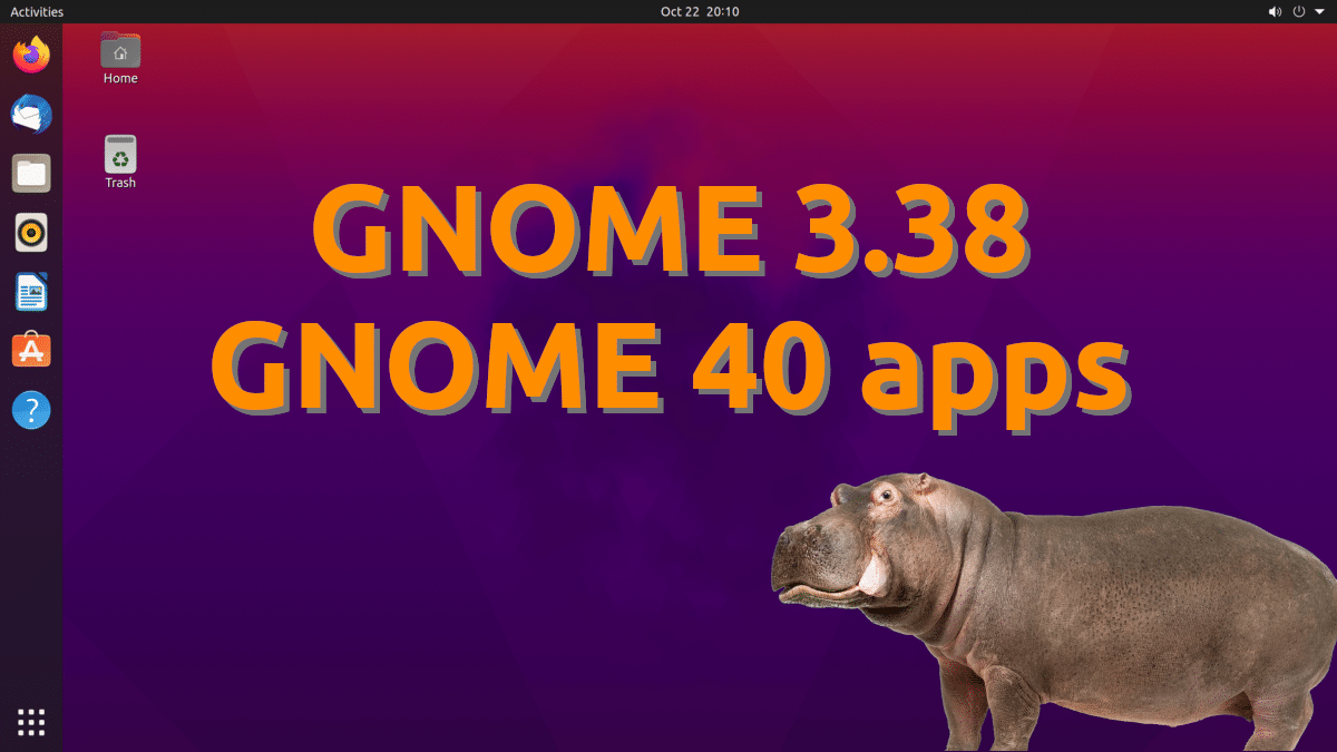 Ubuntu 21.04 con GNOME 40 apps