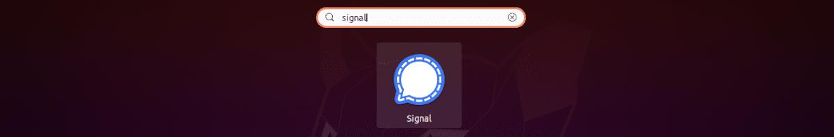 lanzador signal