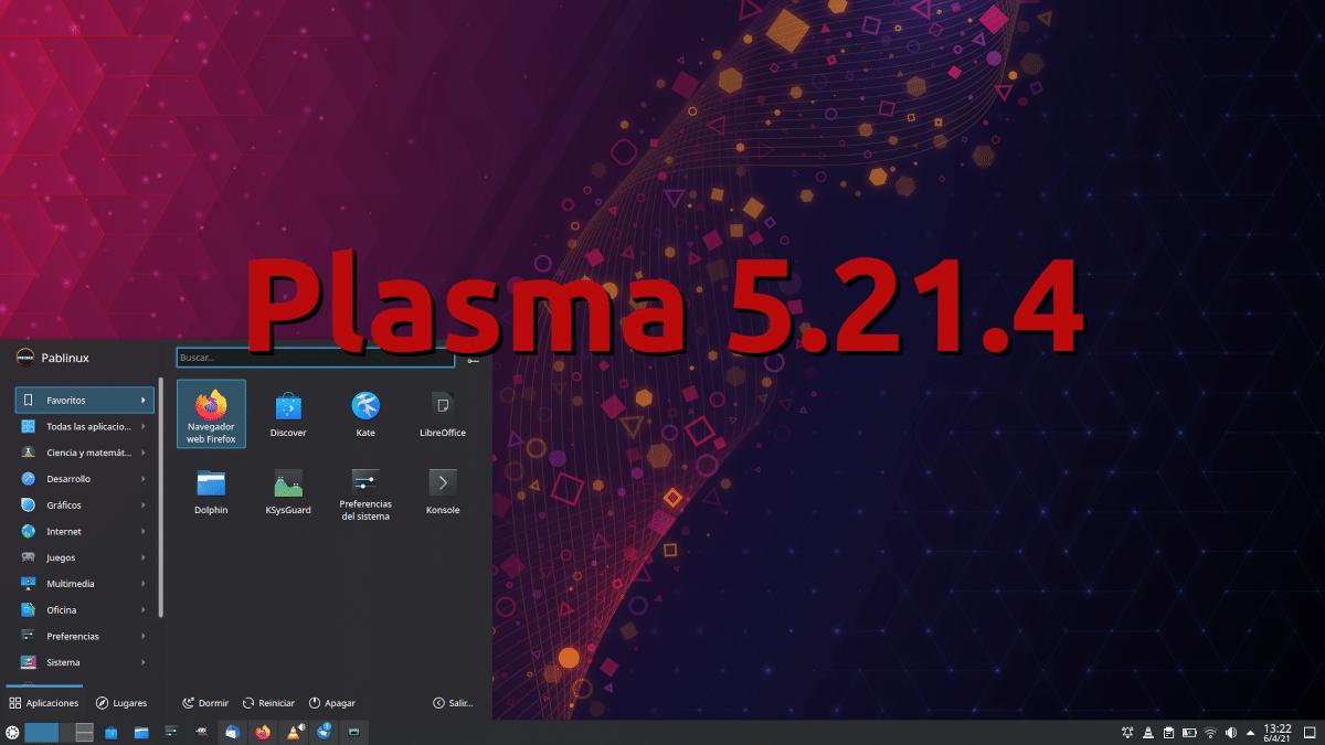 Plasma 5.21.4