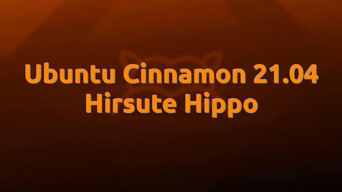 Ubuntu Cinnamon 21.04
