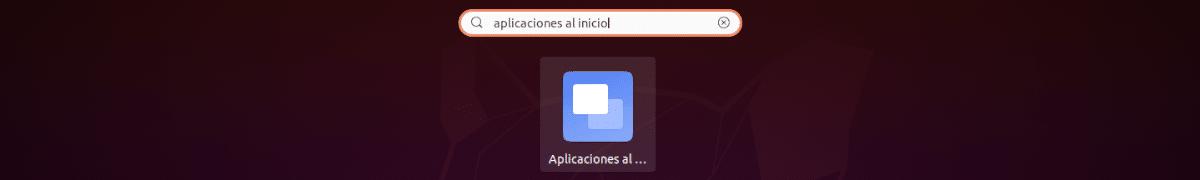 aplicaciones al inicio
