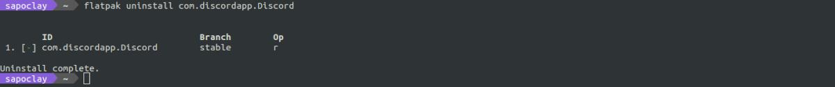 desinstalar discord flatpak