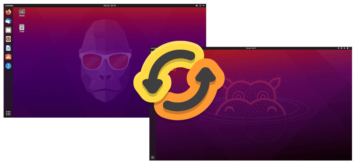 Actualizar de Ubuntu 20.10 a Ubuntu 21.04