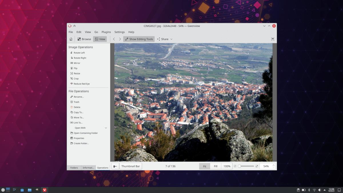 Gwenview en KDE Gear 21.04.2