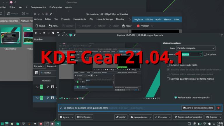 KDE Gear 21.04.1