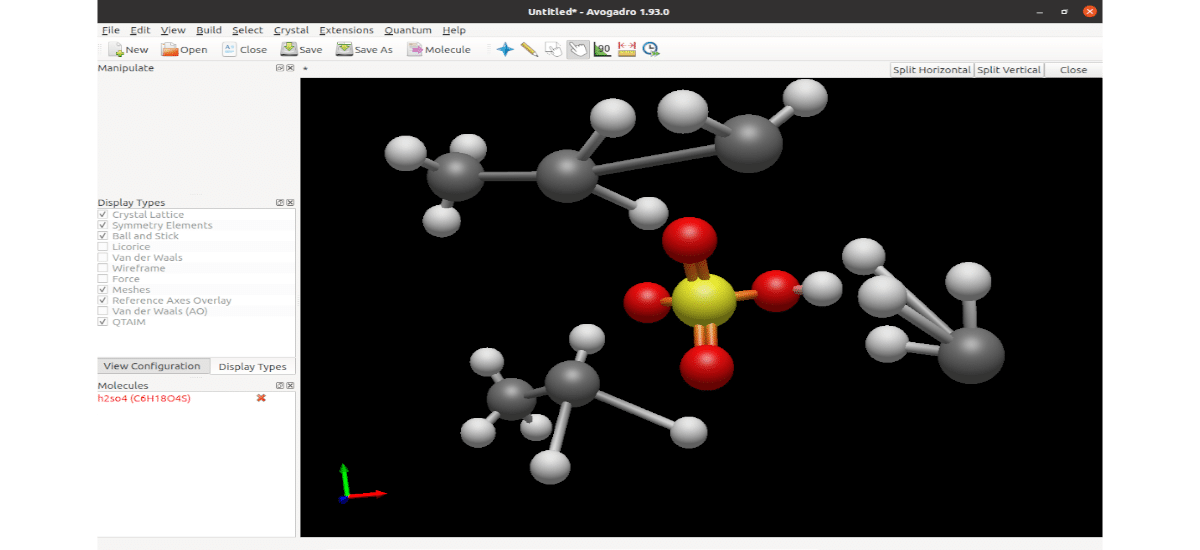 formándo moléculas