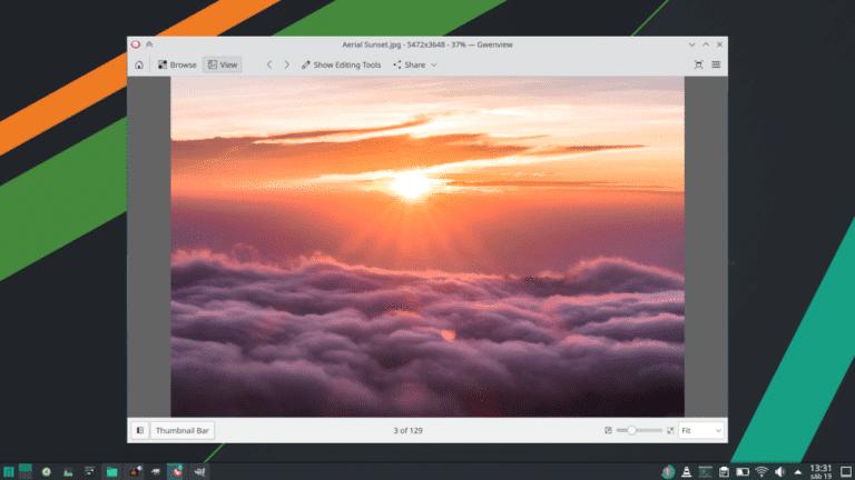 Gwenview en KDE Gear 21.08
