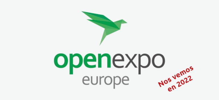 OpenExpo nos vemos en 2022