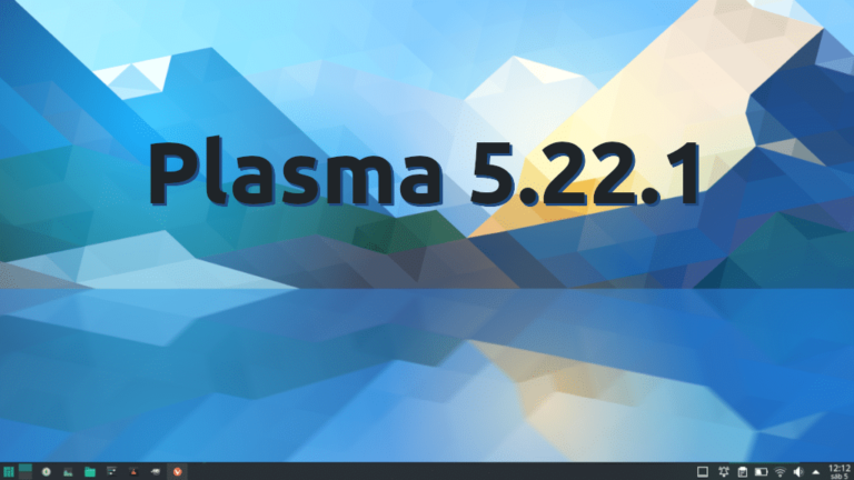 Plasma 5.22.1